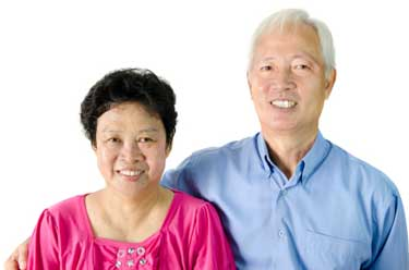 Image of a senior couple