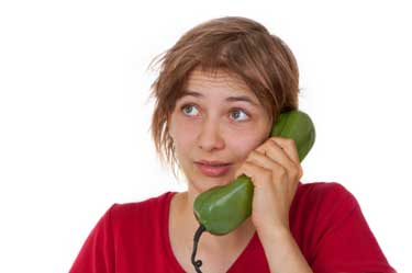 image of woman making a phone call